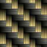 Carbon fiber woven texture Stock Images