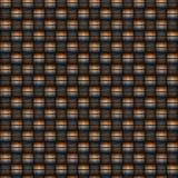 Carbon fiber woven texture Stock Photography