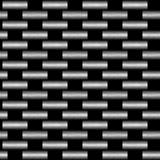 Carbon fiber wowen texture Royalty Free Stock Photo