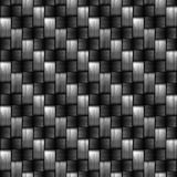 Carbon fiber wowen texture Royalty Free Stock Photography