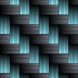 Carbon fiber wowen texture Stock Photos