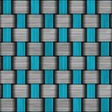 Carbon fiber wowen texture Royalty Free Stock Images
