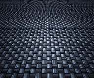 Carbon fibre background. Great image of a woven carbon fibre background vector illustration