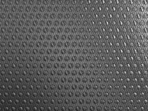 Carbon fibre background with round shapes. Pattern. Large resolution Royalty Free Stock Photography