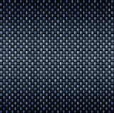 Carbon fibre fiber texture. Detailed tightly woven carbon fibre background texture royalty free illustration