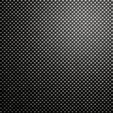 Carbon fibre mesh background. Great black woven carbon fibre background texture Stock Photography