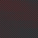 Carbon fibre. With red stripes Royalty Free Stock Photos