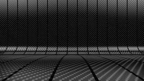 Carbon fibre stripes background Stock Image