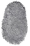 Carbon Fingerprint Royalty Free Stock Photography