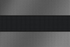 Carbon Mesh metal background Royalty Free Stock Photography