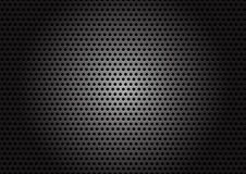 Carbon metallic texture. Royalty Free Stock Photography