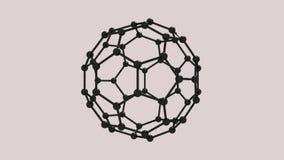 Carbon molecule animation