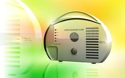 Carbon monoxide alarm vector illustration