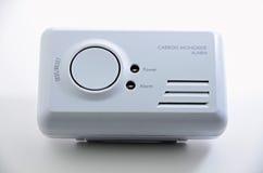 Carbon Monoxide Sensor. Carbon monoxide alarm on white background royalty free stock image