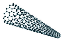 Carbon nanotube Royalty Free Stock Images