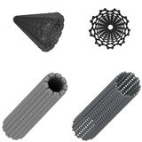Carbon nanotube Stock Photography