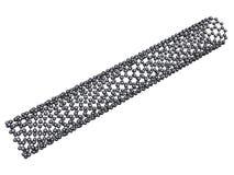 Carbon nanotube Royalty Free Stock Photos