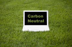 Carbon Neutral Computing Royalty Free Stock Photo
