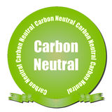Carbon Neutral Seal Stock Image
