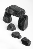 Carbon nuggets Royalty Free Stock Photography