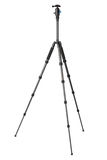 Carbon photographic tripod Stock Photography