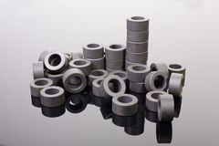 Carbon rings Royalty Free Stock Photography