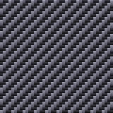 Carbon Seamless Fiber Background. Vector Stock Photography