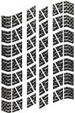 Carbon Tread Isolated. Tread from a car tyre in carbon fibre, isolated on a white background with clipping path. Environmental concepts of leaving a carbon Stock Photos