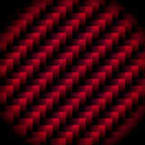 Carbon weave red Stock Photography