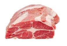 Carbonade del collo della carne di maiale Immagine Stock
