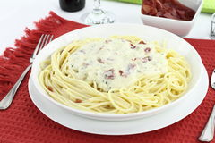 Carbonara Stock Photography
