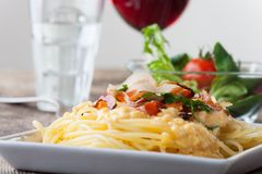 Carbonara Royalty Free Stock Photo