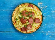 Carbonara créole photographie stock