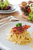 Carbonara da massa foto de stock royalty free