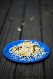 Carbonara dish Royalty Free Stock Photography