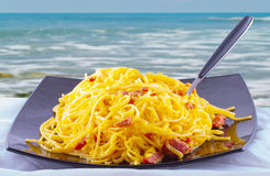 Carbonara Stock Photo