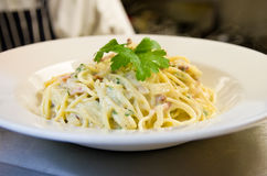 Carbonara Royalty Free Stock Photography