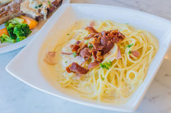 Carbonara Royalty Free Stock Images
