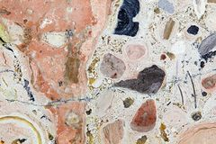 Carbonate Rock Surface Royalty Free Stock Photo