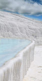 Carbonate travertines in Pamukkale Stock Images