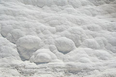 Carbonate wall in Pamukkale, Turkey Stock Photos