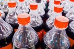 Carbonated бутылки безалкогольного напитка Стоковая Фотография