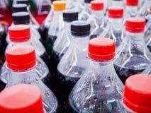 Carbonated бутылки безалкогольного напитка Стоковая Фотография RF