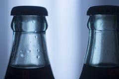 Carbonated бутылка безалкогольного напитка колы соды стеклянная Стоковые Изображения RF
