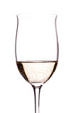 Carbonated white wine Royalty Free Stock Image