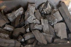 Carbone accatastato fuori Immagine Stock Libera da Diritti