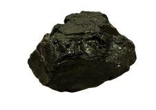 Carbone del fiume della polvere Fotografia Stock Libera da Diritti