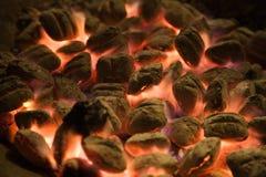 Carbone di legna Immagini Stock Libere da Diritti