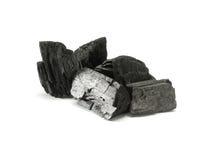 Carbone di legna Fotografie Stock