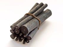 Carbone di legna Fotografie Stock Libere da Diritti